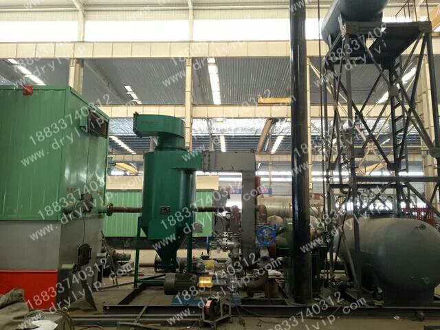 1T兰炭导热油炉整装