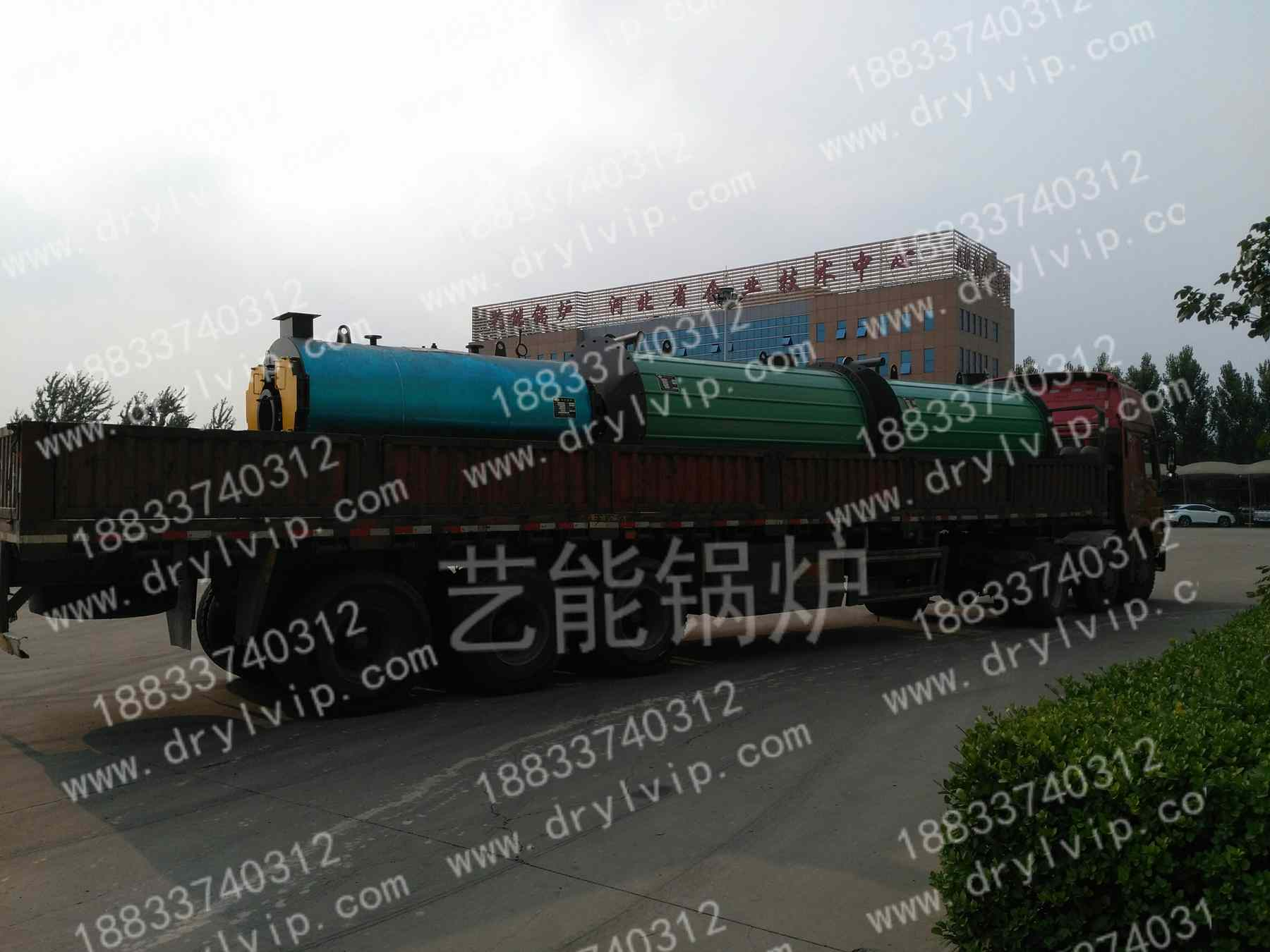 0.5T蒸汽锅炉发货